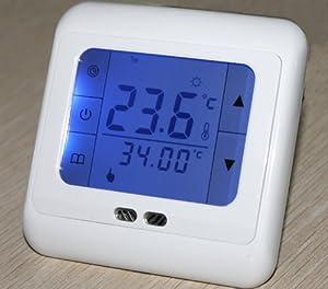 SM-PC®, Raumthermostat Thermostat programmierbar mit Touchscreen #799