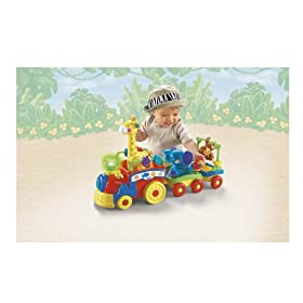 Fisher-Price Amazing Animals Sing and Go Choo-Choo