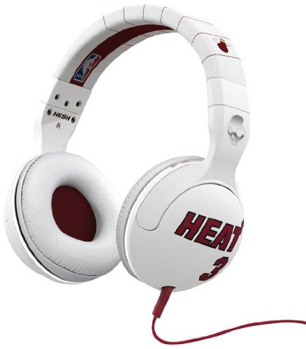 Skullcandy S6Hsdy-227 Hesh 2 Miami Heat Dwayne Wade Over-The-Ear Headphones