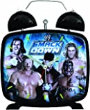 WWE Smackdown Clock, Group Photograph Design, Blue