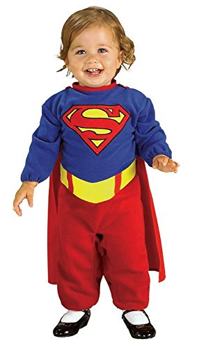 Comic Book Super Heroes Kids Costume Supergirl Romper (Infant Size) #885302