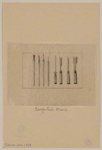 Photo: Carpenter's chisels