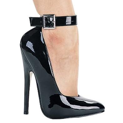 6 inch women 39 s sexy high heel shoe evening - Ladies bedroom slippers with heel ...