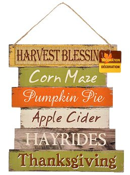 It's fall y'all!  Love this wall hanging
