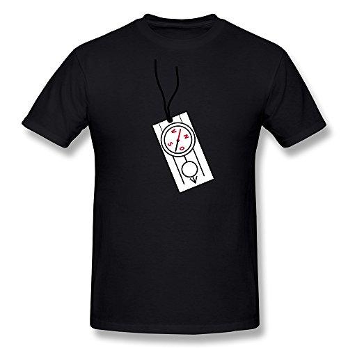 Guy Compass Fashion T Shirt Size L Color Black