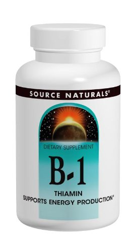 Source Naturals B-1, W/Mag (Formerly Thiamind) 100 Tabs, 500 Mg