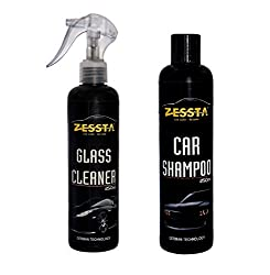 Zessta Glass Cleaner & Car Shampoo (250 Ml)