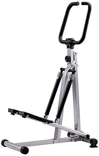 JK Fitness 5030 Stepper Richiudibile, Silver/Nero