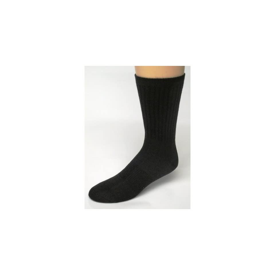 Merino WOOL Socks, Color Black, Size 9 11, 2 Pairs Wool