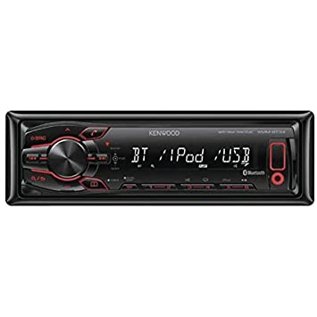 Kenwood KMM-302BT Autoradio avec Media-Tuner/Aux/USB/Bluetooth