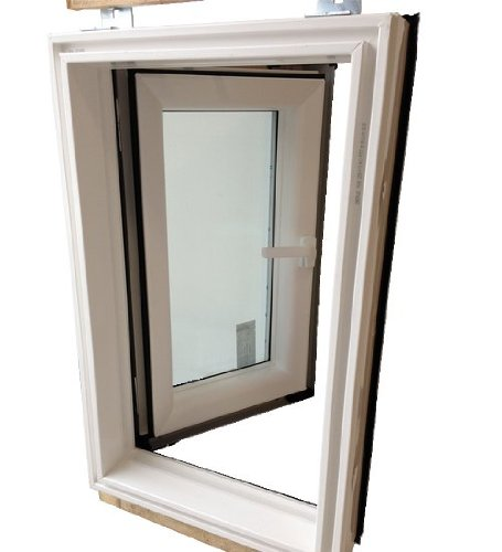 afg 78x98 dachausstieg pvc skylight premium warmdach mit. Black Bedroom Furniture Sets. Home Design Ideas