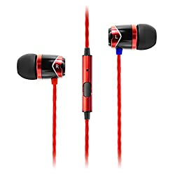 Soundmagic E 10S In-Ear Headphones with Mic (Red)