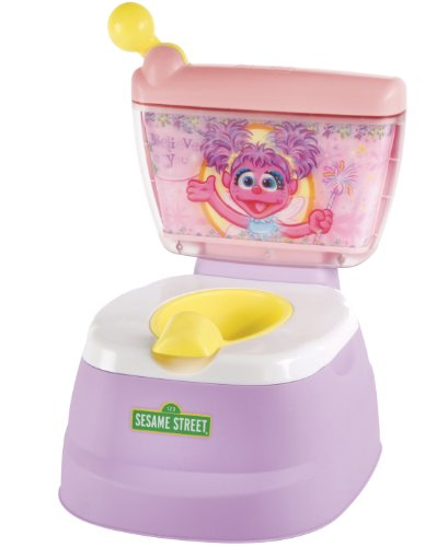 Sesame Street Abby Cadabby Magical Potty Chair, Pink (Discontinued by Manufacturer)