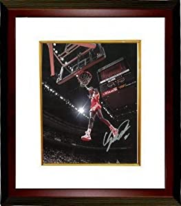 Dominique Wilkins Autographed Hand Signed Atlanta Hawks Dunking 8x10 Photo Custom... by Hall of Fame Memorabilia