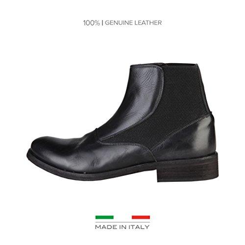 Made In Italia Uomo Shoes stivaletti nero Size: EU 41