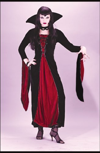 Velour Vampress Adult Sm Md Halloween or Theatre Costume