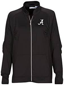 NCAA Alabama Crimson Tide Ladies Donya Jacket, Black, Small by Oxford