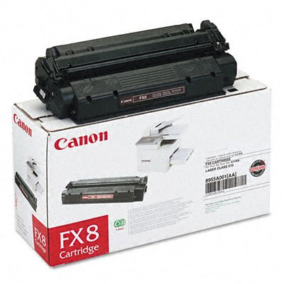 Brand New Canon FX-8, FX8, 8955A001AA compatible laser toner cartridge for Canon Faxphone L400, Faxphone L170, Canon LaserClass 310, LaserClass 510, Black color, 3500 Page yield. ONLY SOLD BY: Best Deal Toner
