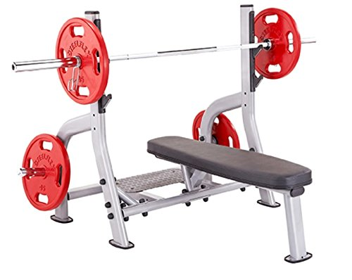 Steelflex-NOFB-Olympic-Flat-Weight-Lifting-Bench