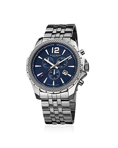 Akribos XXIV Men's AK662BU Blue Stainless Steel Watch
