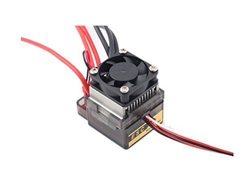 Ericoco New 320A 7.2V-16V Brushed ESC Speed Controller for RC Car Truck Boat (Rc 380 Motors Brushed compare prices)