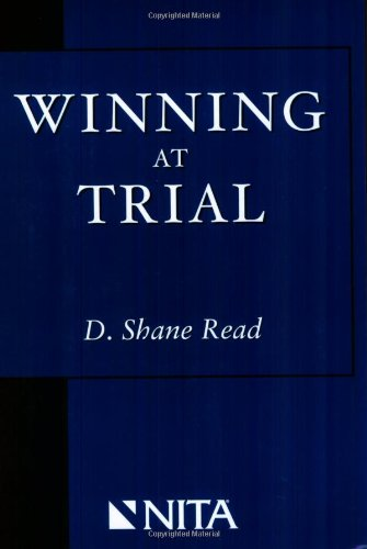 Winning at Trial (Winner of ACLEAs Highest Award for Professional Excellence)