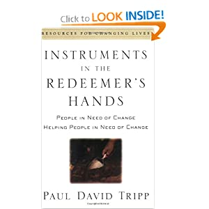 Instrument in the Redeemer's Hands