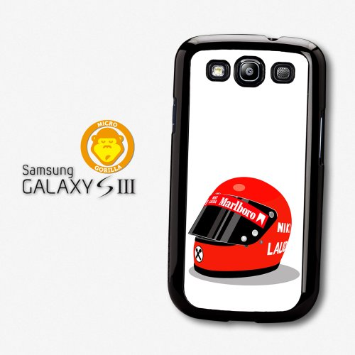 Niki Lauda Helmet F1 Formula One Driver Rush Case For Samsung Galaxy S3 A343
