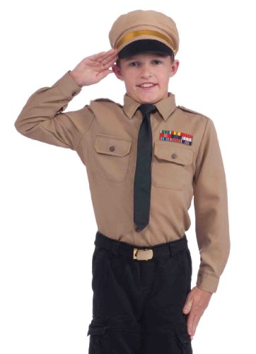 Instant Army Kids Costume Kit