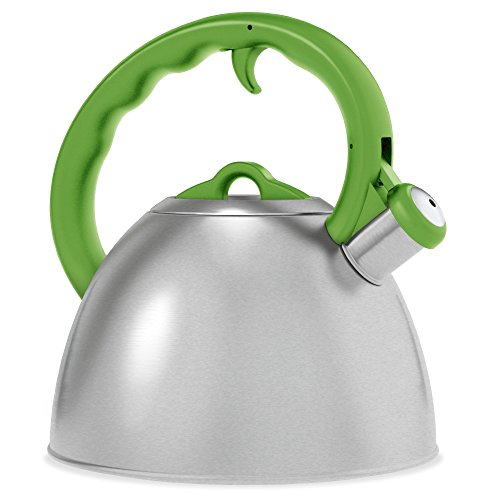 Remedy Metro 1.5 quart Tea Kettle, Apple Green (Apple Kettle compare prices)