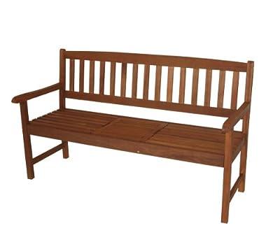 Hockerbank Saigon 3-sitzer mit Ausklapptisch, Eukalyptus, FSC®-zertifziert von gartenmoebel-einkauf bei Gartenmöbel von Du und Dein Garten