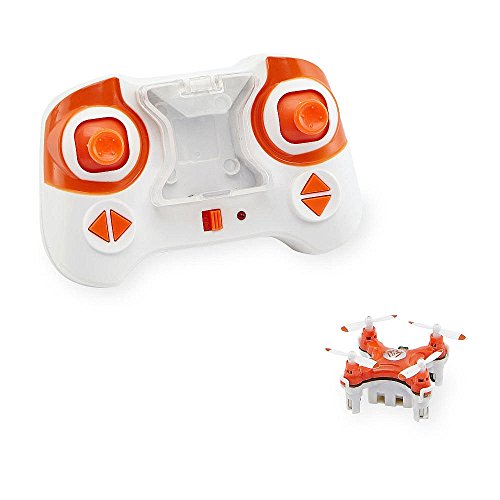 Fast Lane Radio Control FLX Nano Drone - Orange and White (Nano Doors compare prices)