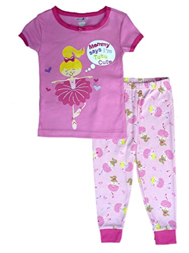 Babies R Us Infant & Toddler Girls Mommy Says Im Tutu Cute Sleepwear Set Pajamas PJs