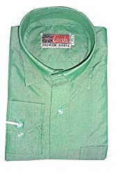 Lords Wear Men's Formal Shirt (LordsWear_Green_42)
