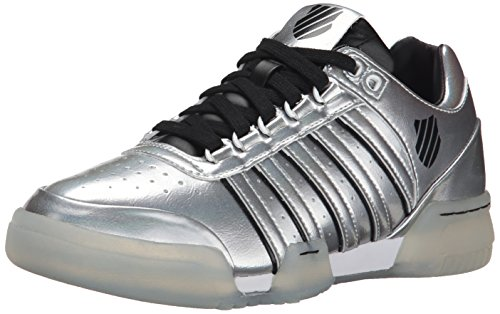 K-Swiss Women's Gstaad S Athletic, Crystal/Black/White, 7 M US