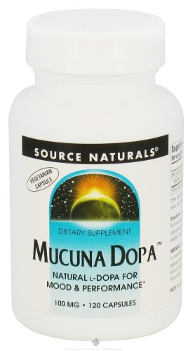 Source Naturals: Mucuna Dopa 100Mg, 120 Vcaps