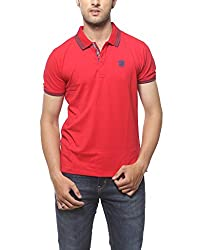 SPYKAR Men Cotton Red Casual Shirt (XX-Large)
