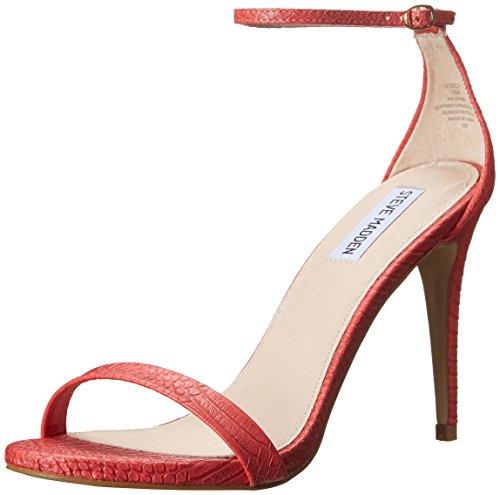 Steve Madden da donna STECY Dress Sandal, Rosa (Coral Snake), 40,5 EU M