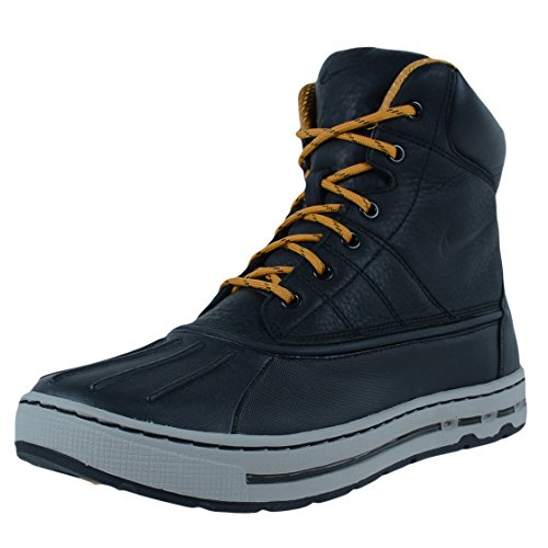 NIKE WOODSIDE ALL CONDITIONS GEAR BOOTS BLACK BLACK MEDIUM GREY 386469 003 SZ 8 (All Condition Gear Boots compare prices)