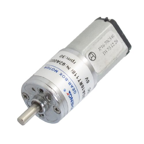 Dc 6V 30Rpm Output Speed 2 Pin 3Mm Shaft Electric Mini Geared Motor