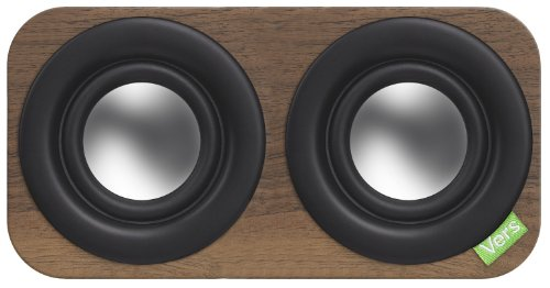 Vers Audio Q203 2Q Bluetooth Sound System (Walnut)