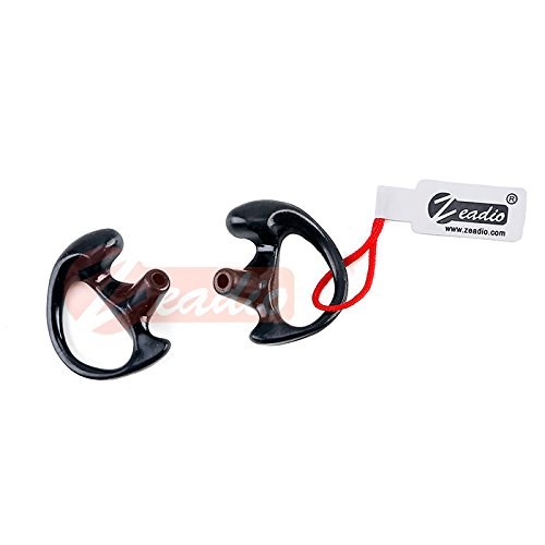 Discover Bargain Zeadio® ES-01M Replacement Earmold Earbud for Two-Way Radio Coil Tube Audio Kits [...