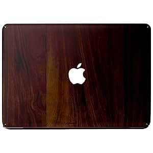 Wonderskins WSAir_11inch_0141 Macbook Air 11inch Vinyl Skin with Apple Logo and Round Edges Cutout