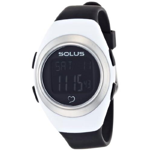 [ソーラス]SOLUS 腕時計 心拍計測機能 Leisure 800(レジャー 800) ホワイト×ブラック 01-800-205 【正規輸入品】