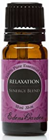 Relaxation Synergy Blend Essential Oil- 10 ml (Lavender, Marjoram, Patchouli, Mandarin, Geranium &…