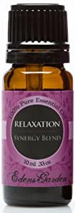 Relaxation Synergy Blend Essential Oil- 10 ml (Lavender, Marjoram, Patchouli, Mandarin, Geranium & Chamomile)