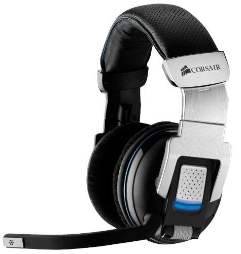 Corsair Vengeance 2000 Wireless 7.1 Gaming Headset (105dB) schwarz/silber