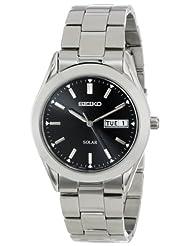 Seiko SNE039 Solar Black Watch
