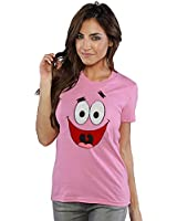 Spongebob: Patrick Star Face Junior Ladies T-Shirt