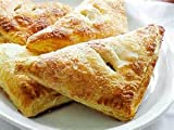 APPLE TURNOVER FRESH BAKED BAKERY PASTRY 4 CT